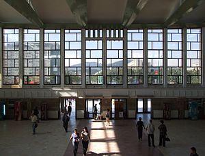 Braşov (Kronstadt, Brassó) - train station - interior