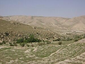 Sinjar clashes (2017) - Fallow terrace fields in the Sinjar Mountains.