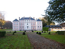 The chateau of Brailly-Cornehotte