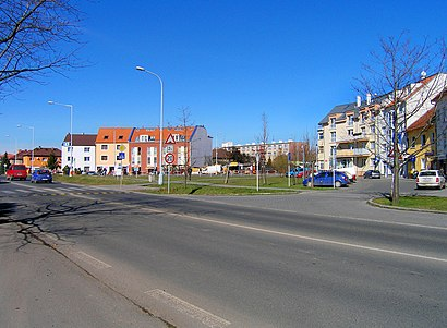 How to get to Kamýcká with public transit - About the place