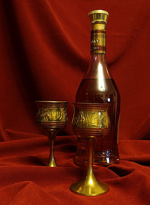 Ararat (brandy) - A bottle of ArArAt brandy