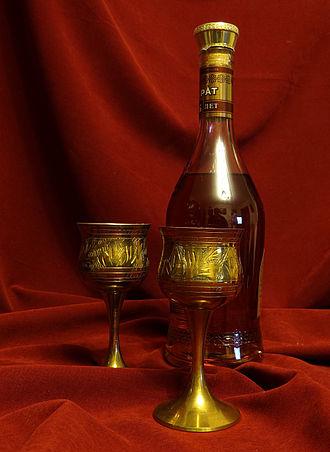 Ararat (brandy) - A bottle of ArArAt brandy