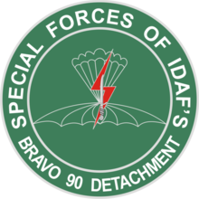 Bravo Detachment 90 logo, Indonesian Air Force special unit.png