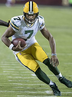 Brett Hundley American football quarterback