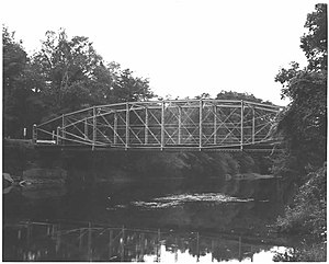 Bridge in Nicholson Township - Image: Bridge in Nicholson Township