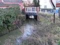 Bridge over the river in Fore Street, Framlingham - geograph.org.uk - 1125074.jpg