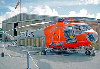 Bristol Sycamore - Sycamore HR.14 of the Royal Air Force Central Flying School (1977)