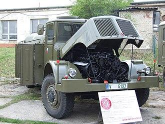 Tatra 111 - T 111 C army tanker