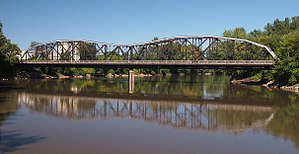 National Register of Historic Places listings in Nicollet County, Minnesota - Image: Broadway Bridge MN 99