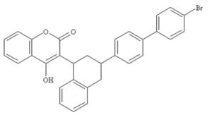 Vitamin K antagonist - Image: Brodifacoum