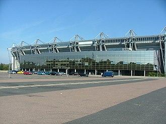 Brøndby Stadium - A look outside Brøndby Stadium.