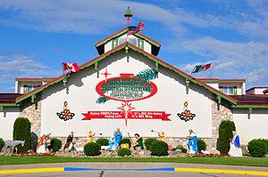Bronner's Christmas Wonderland - The West Entrance to Bronner's Christmas Wonderland.