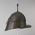 Bronze helmet of Apulian-Corinthian type MET DP105641.jpg