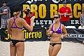Brooke Sweat and Jennifer Fopma at Hermosa Beach 2012 (2).jpg