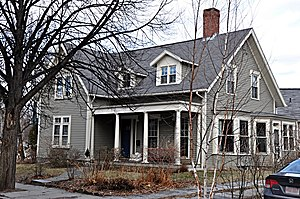 William Ingersoll Bowditch House - Image: Brookline MA William Ingersoll Bowditch House