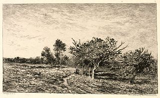 Apple Trees at Auvers