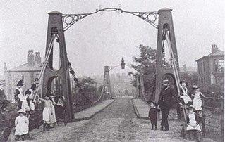 Broughton Suspension Bridge 1826 bridge in England