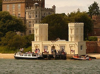 Brownsea Castle - The Family Pier, also dating from 1852