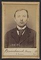 Bruchaesen. Etienne. 31 ans, né à Mag Levard (Hongrie). Tailleur d'habits. Anarchiste. 11-3-94. MET DP290231.jpg