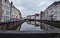 Bruges, BE (DSCF4824) Spiegelrei (left), Spinolarei (right), Jan van Eyckplein (origin).jpg