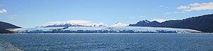 Brüggen Glacier - Image: Bruggen Pio XI Face Complete Cropped IMG5642