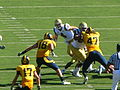 Bruins on offense at UCLA at Cal 2010-10-09 18.JPG