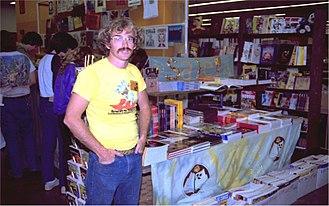 Bud Plant Inc. - Bud Plant at the 1982 San Diego Comic-Con.