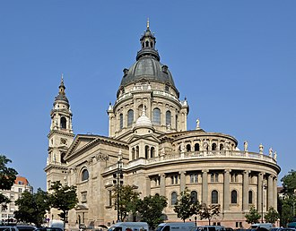 St. Stephen's Basilica - Image: Budapest Szent Istvan Bazilika R01