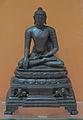Buddha in Bhumisparsha Mudra - Bronze - ca 9th-10th Century CE - Pala Period - Nalanda - ACCN 9426-A24290 - Indian Museum - Kolkata 2016-03-06 1725.JPG