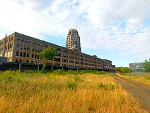 The Former Headhouses Of Buffalo Central Terminal In July 2016