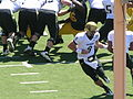 Buffaloes on offense at Colorado at Cal 2010-09-11 2.JPG