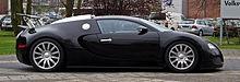 Bugatti Veyron 16.4 – Seitenansicht, 5. April 2012, Düsseldorf.jpg