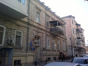 Józef Gosławski (architect) - House in Baku, where Józef Gosławski lived