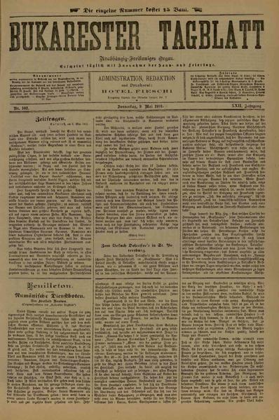 File:Bukarester Tagblatt 1901-05-09, nr. 102.pdf