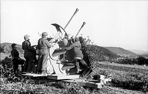 3.7 cm Flak 18/36/37/43 - A 3.7 cm Flakzwilling 43