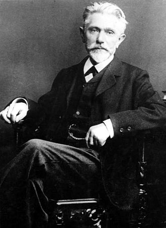 History of the Social Democratic Party of Germany - August Bebel in 1863, co-chairman from 1892 to 1913