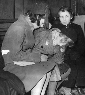 Expulsions of Jews - First Batch of Refugee children arrive in England from Germany.