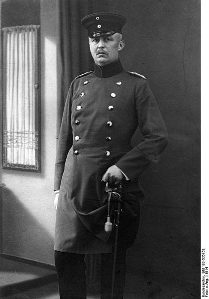Erich von Ludendorff 1914