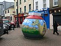 Buoy used as collection box on Arundel Square - geograph.org.uk - 1543086.jpg