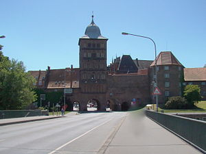 Burgtor - Burgtor Gate in June 2009