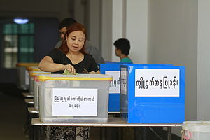 Thein Sein's Cabinet - A woman in by-elections