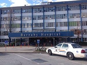 Burnaby Hospital - Main entrance