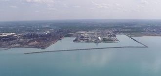 Northern Indiana - Located on Lake Michigan in Portage, the Port of Indiana–Burns Harbor.
