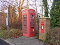 Bus Stop,Telephone and Post Box - geograph.org.uk - 1095359.jpg