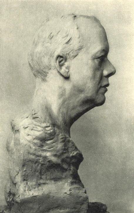 Bust of Houston Stewart Chamberlain