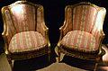 Butaques, mobiliari de sala d'estar estil Lluís XV, MARQ.JPG