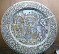 C.sf., castelli, bottega di francesco grue, piatto da parata con allocuzione di scipione, 1640-1650.JPG