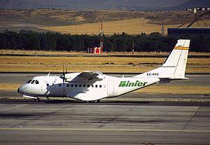 Binter Canarias - Both Binters originally flew the CN235.