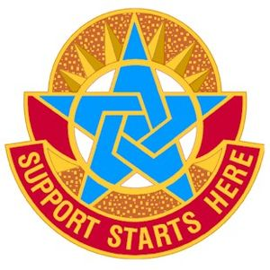 United States Army Combined Arms Support Command - Image: CASCOM DUI