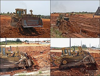 Earthworks (engineering) engineering works created through the moving or processing of parts of the earths surface